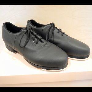 BLOCH Black Jazz Lace Up Tap Shoes